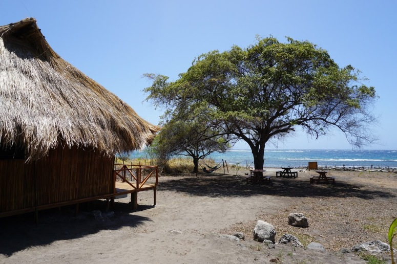 Christian's bungalow in Atauro Island ,East Timor.